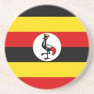 Flag of Uganda Coaster