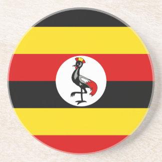 Flag of Uganda Drink Coaster