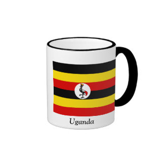 Flag of Uganda Ringer Mug