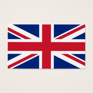 Flag of UK Business Cards