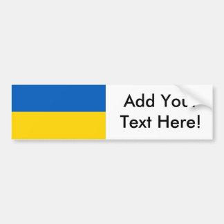 Flag of Ukraine Car Bumper Sticker