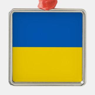 Flag of Ukraine Christmas Ornament