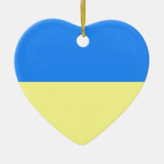 Flag of Ukraine Christmas Tree Ornaments