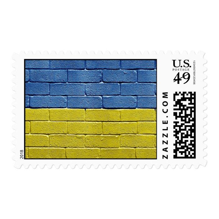 Flag of Ukraine Stamp