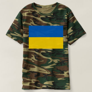 Flag of Ukraine - Ukrainian Flag - Прапор України T-shirt
