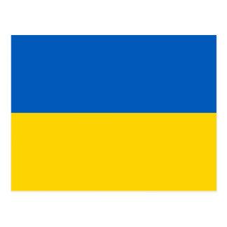 Flag of Ukraine Ukrainian State Flag Blue Yellow Postcard
