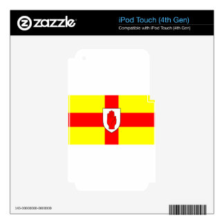 Flag of Ulster - Northern Ireland iPod Touch 4G Decal