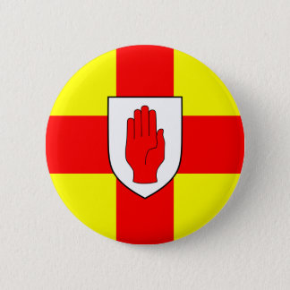 Flag of Ulster - Northern Ireland Pinback Button