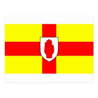 Flag of Ulster - Northern Ireland Postcard