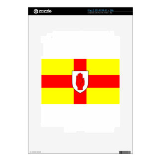Flag of Ulster - Northern Ireland Skins For The iPad 2