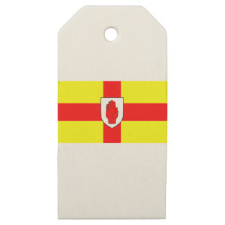 Flag of Ulster - Northern Ireland Wooden Gift Tags