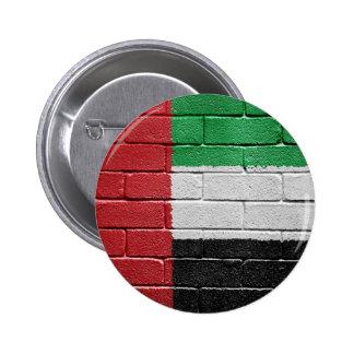 Flag of United Arab Emirates 2 Inch Round Button