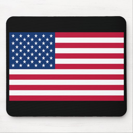 Flag of United States of America Mouse Pad