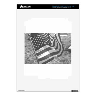 Flag of United States of America Decals For iPad 3