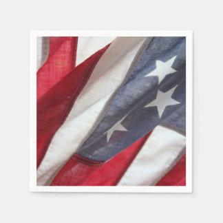 Flag of United States Paper Napkin