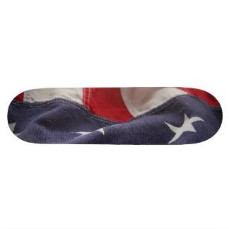 flag of United States skateboard 8.5