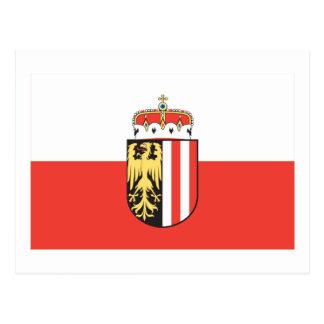 Flag of Upper Austria Postcard