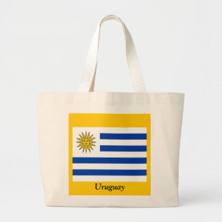 Flag of Uruguay Canvas Bags