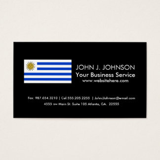 Flag of Uruguay Business Card