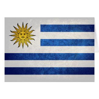 Flag of Uruguay Card
