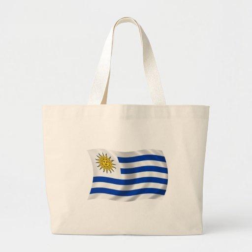 Flag of Uruguay Jumbo Tote Bag