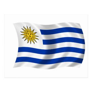 Flag of Uruguay Postcard