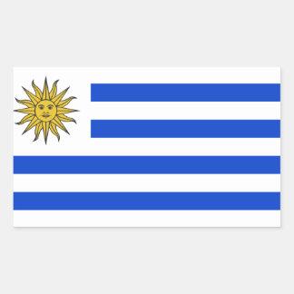 Flag of Uruguay Rectangular Sticker