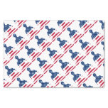 Flag of USA meditation American yoga Tissue Paper