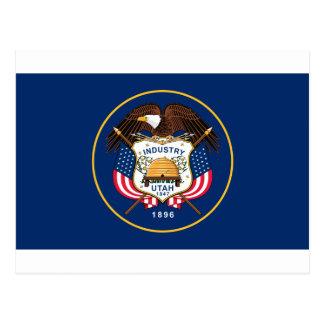 Flag_of_Utah Postcard