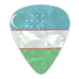 Flag of Uzbekistan Guitar Picks