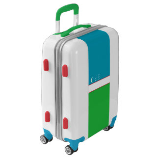 Flag of Uzbekistan Luggage (Carry-On)
