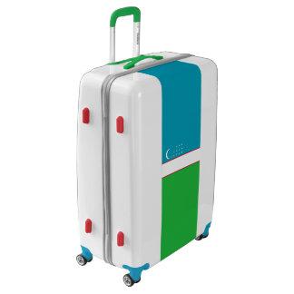 Flag of Uzbekistan Luggage (Large)
