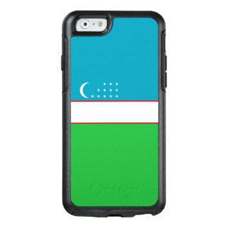 Flag of Uzbekistan OtterBox iPhone Case