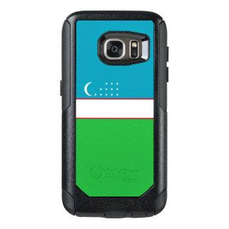 Flag of Uzbekistan Samsung OtterBox Case