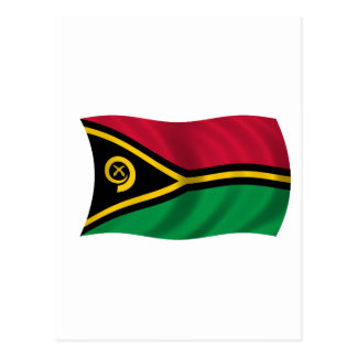 Flag of Vanuatu Postcard