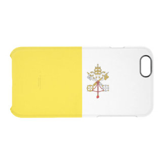 Flag of Vatican City Clear iPhone Case
