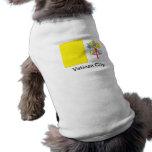 Flag of Vatican City Doggie T Shirt