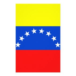 Flag of Venezuela Personalised Stationery