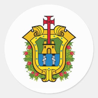 Flag of Veracruz Classic Round Sticker