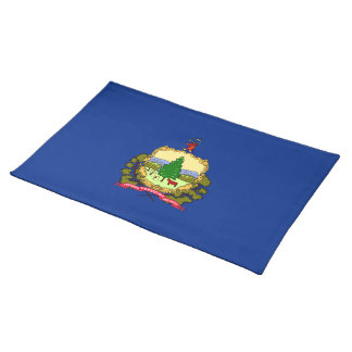 Flag of Vermont Cloth Placemat