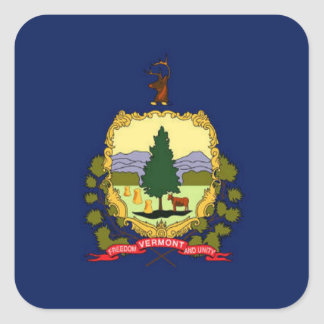 Flag of Vermont Stickers