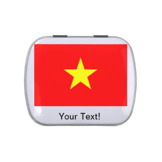 Flag of Vietnam Candy Tin