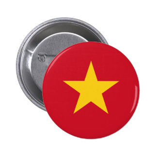 Flag of Vietnam Pinback Button