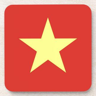 Flag of Vietnam - Quốc kỳ Việt Nam Beverage Coaster