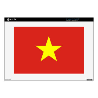 """Flag of Vietnam - Quốc kỳ Việt Nam Decal For 15"""" Laptop"""