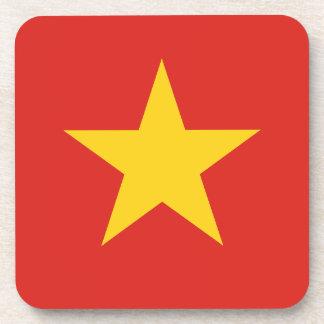 Flag of Vietnam - Quốc kỳ Việt Nam Drink Coaster