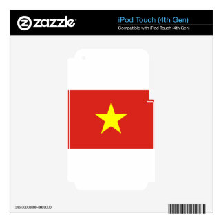 Flag of Vietnam - Quốc kỳ Việt Nam Skin For iPod Touch 4G