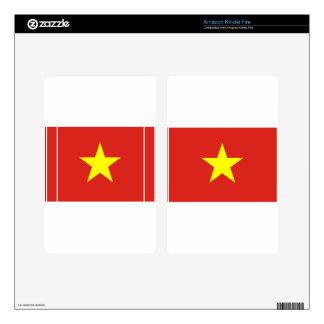 Flag of Vietnam - Quốc kỳ Việt Nam Skins For Kindle Fire