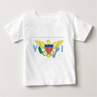Flag of Virgin Islands Infant's Shirt