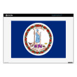 Flag of Virginia Decals For Laptops